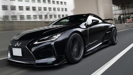 Lexus LC Widebody Kit Makes The Coupe Devilishly Handsome