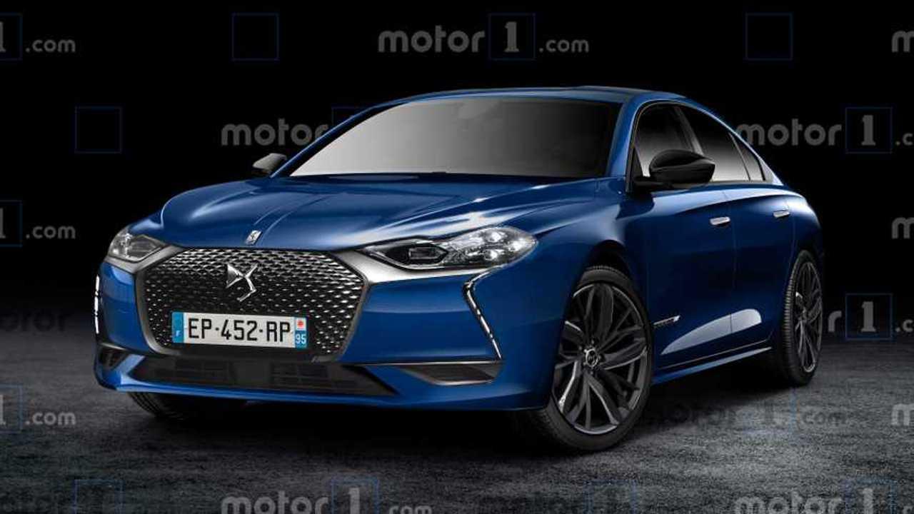 Motor1 DS 8 rendering