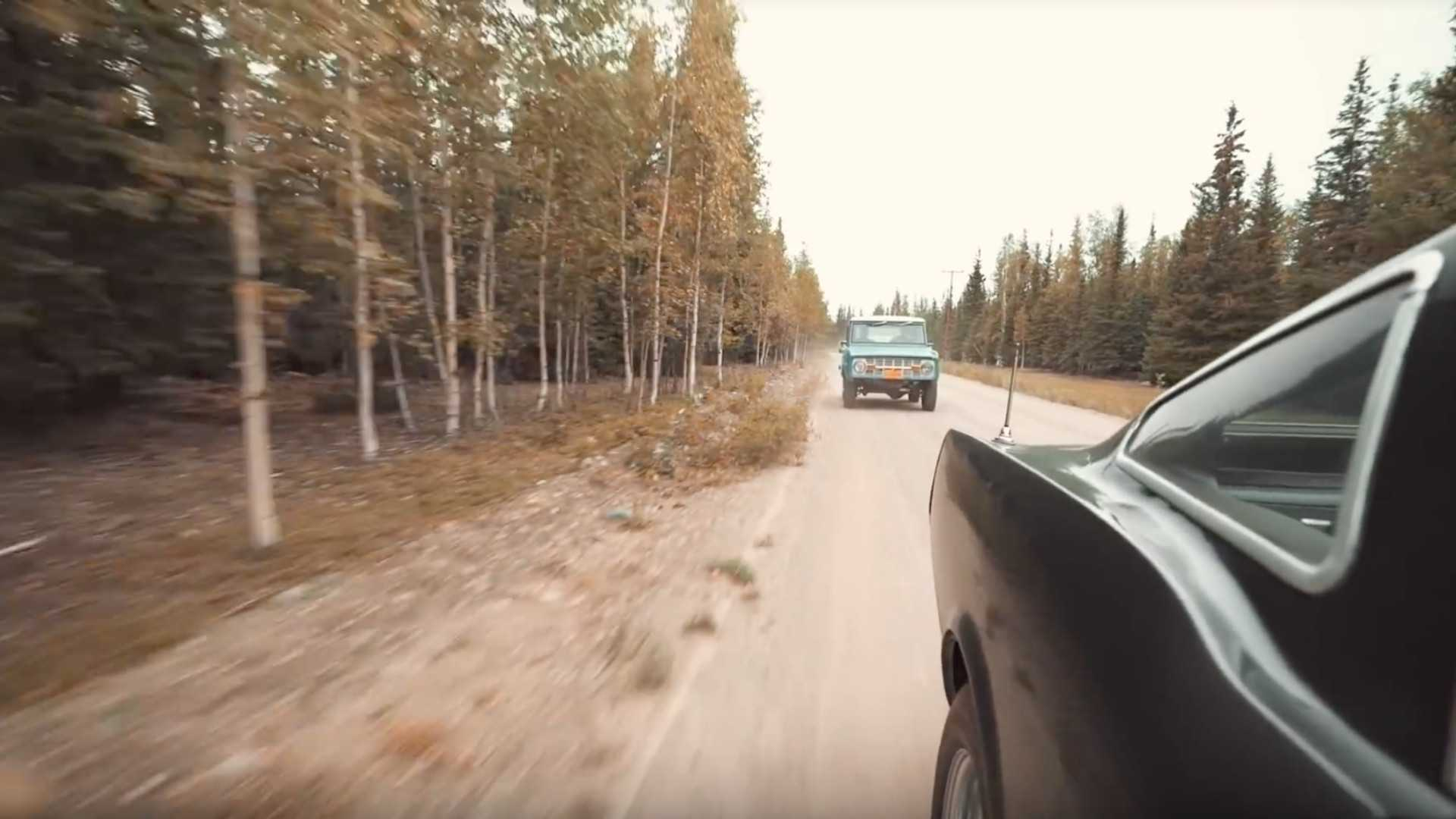 "[""Watch: Ford Bronco Fleet Hidden in the Alaskan Outback""]"