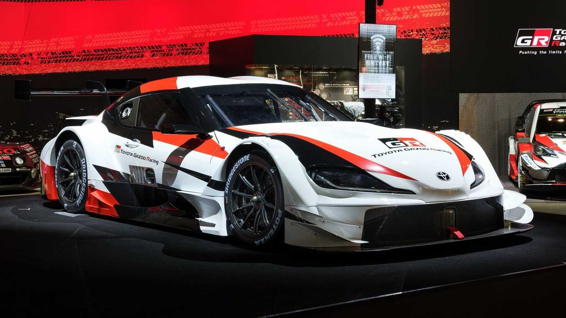 Toyota Race Cars >> Toyota Gr Supra Super Gt Signals The A90 S Racing Ambitions