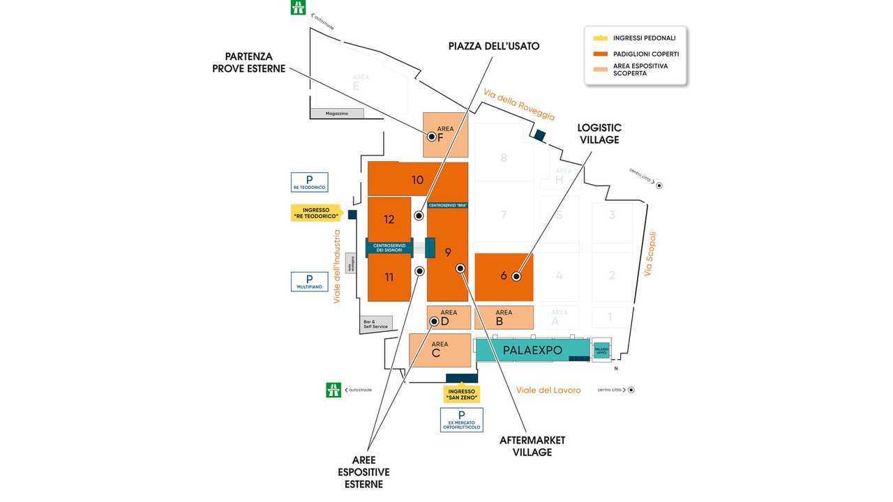 Mappa Quartiere Fieristico