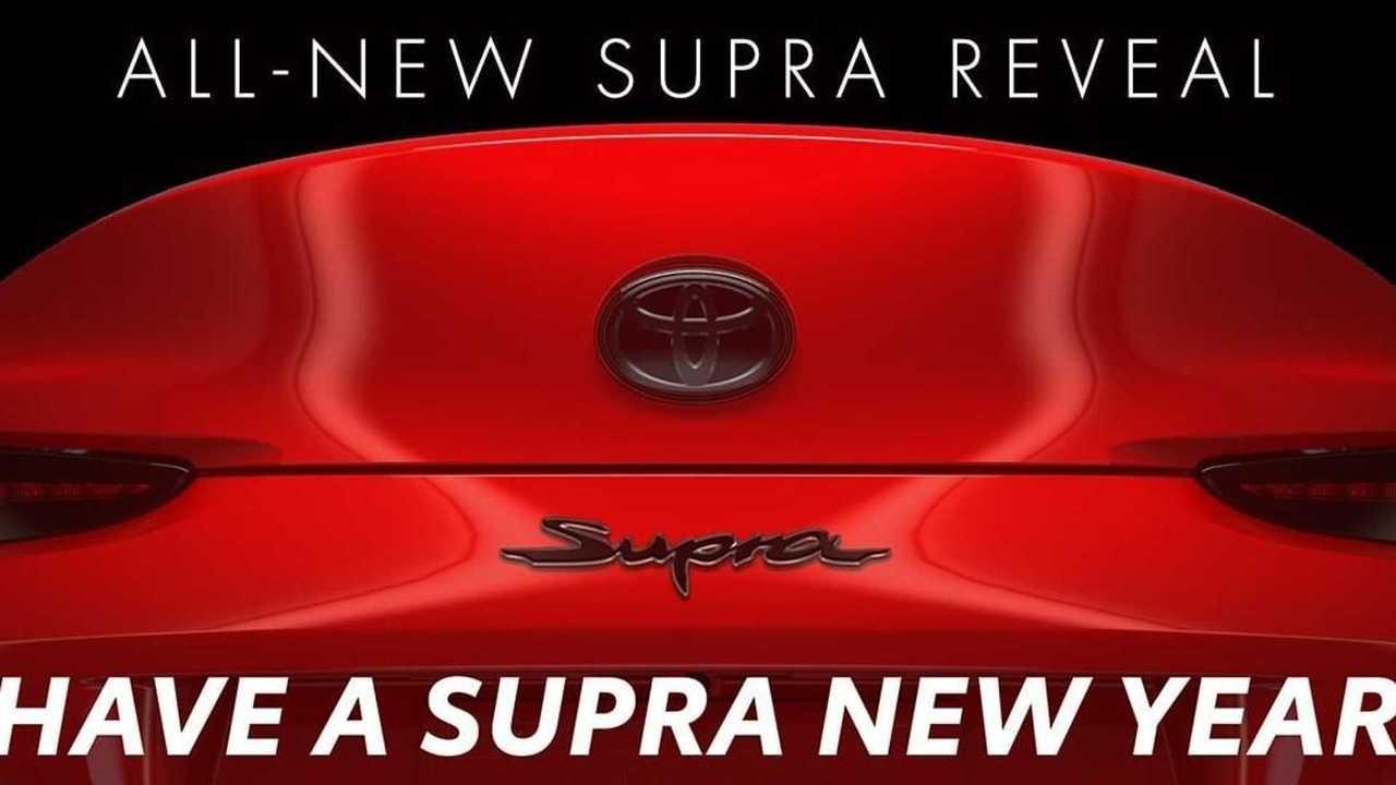 2019 Toyota Supra teaser image