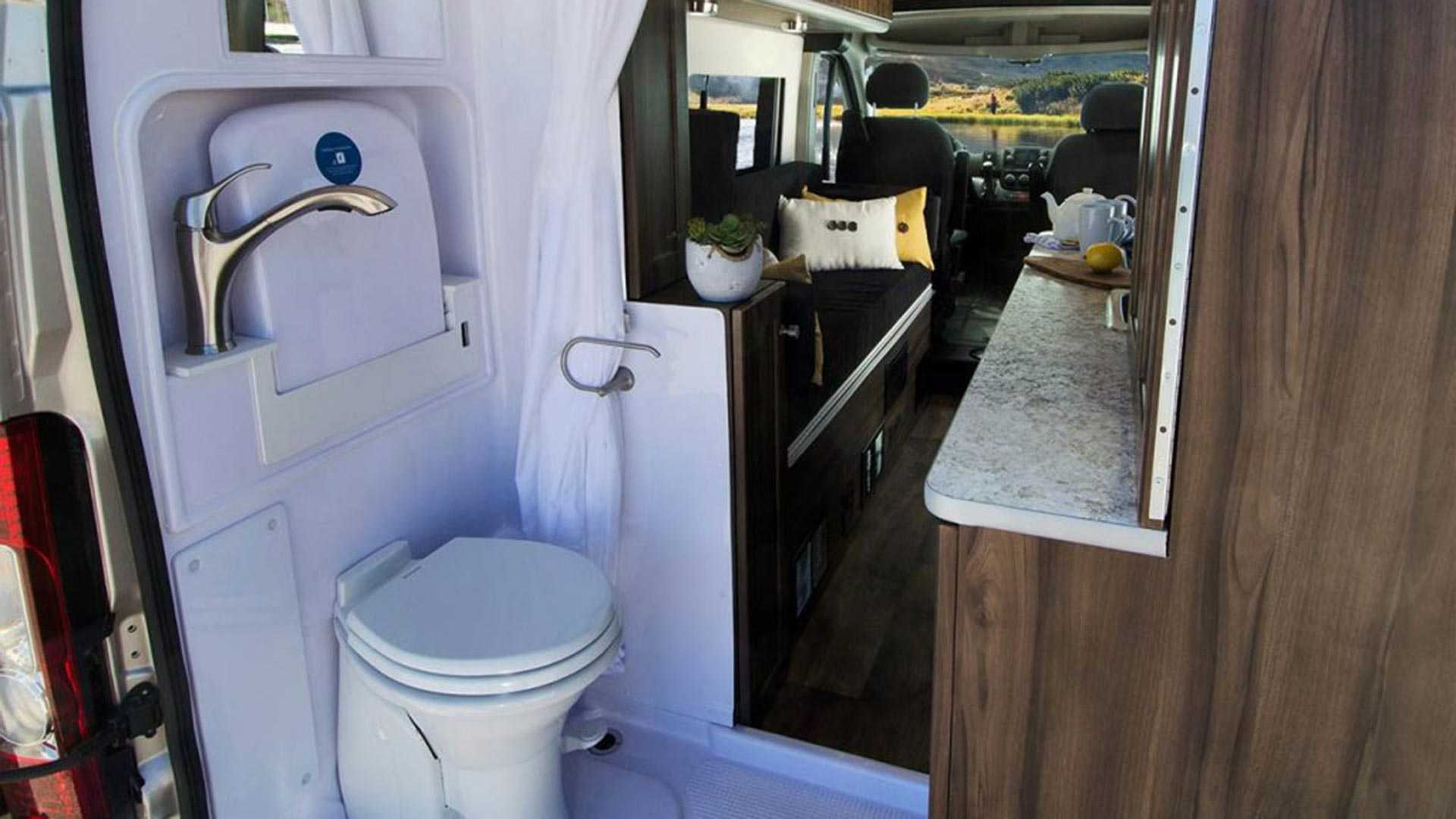 Axion Studio Camper Lets You Sleep On Top Of Ram Promaster