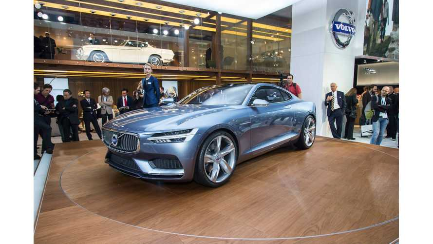 Volvo Concept Coupe Plug-In Hybrid Steals the Show in Frankfurt
