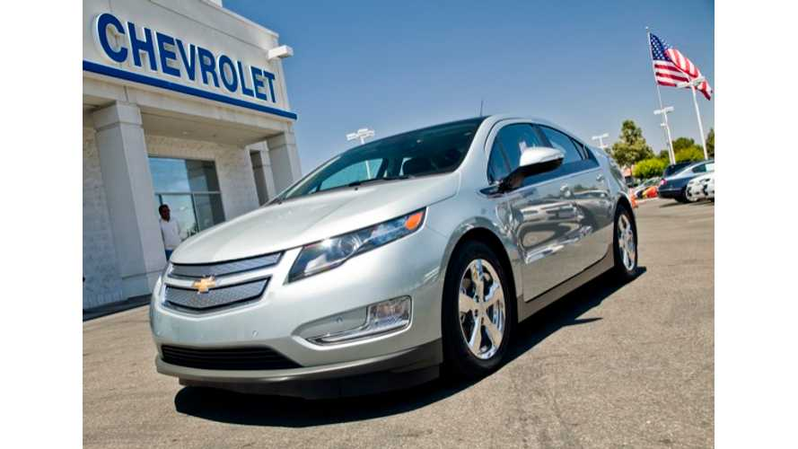 Chevy Volt Takes Off In Netherlands With Record-Setting Sales Month