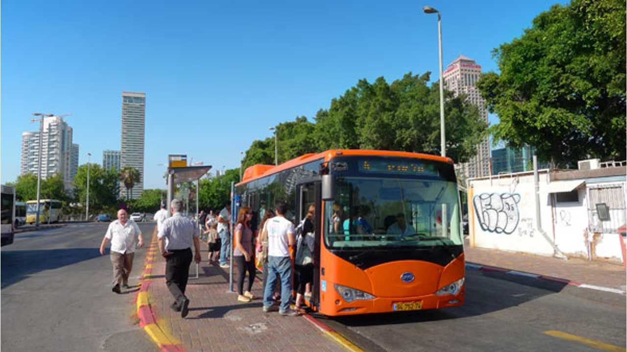 BYD's eBus Swings Into Service in Israel; $113.8 Million Deal for 325 More Electric Buses in the Works?