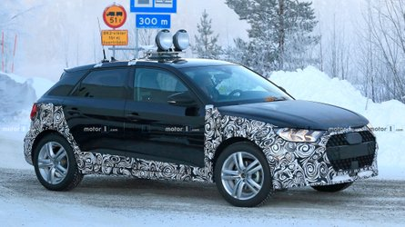 New Audi A1 Allroad Spied Getting Snowy With It