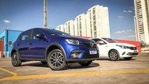 Comparativo: Renault Sandero CVT x Fiat Argo AT