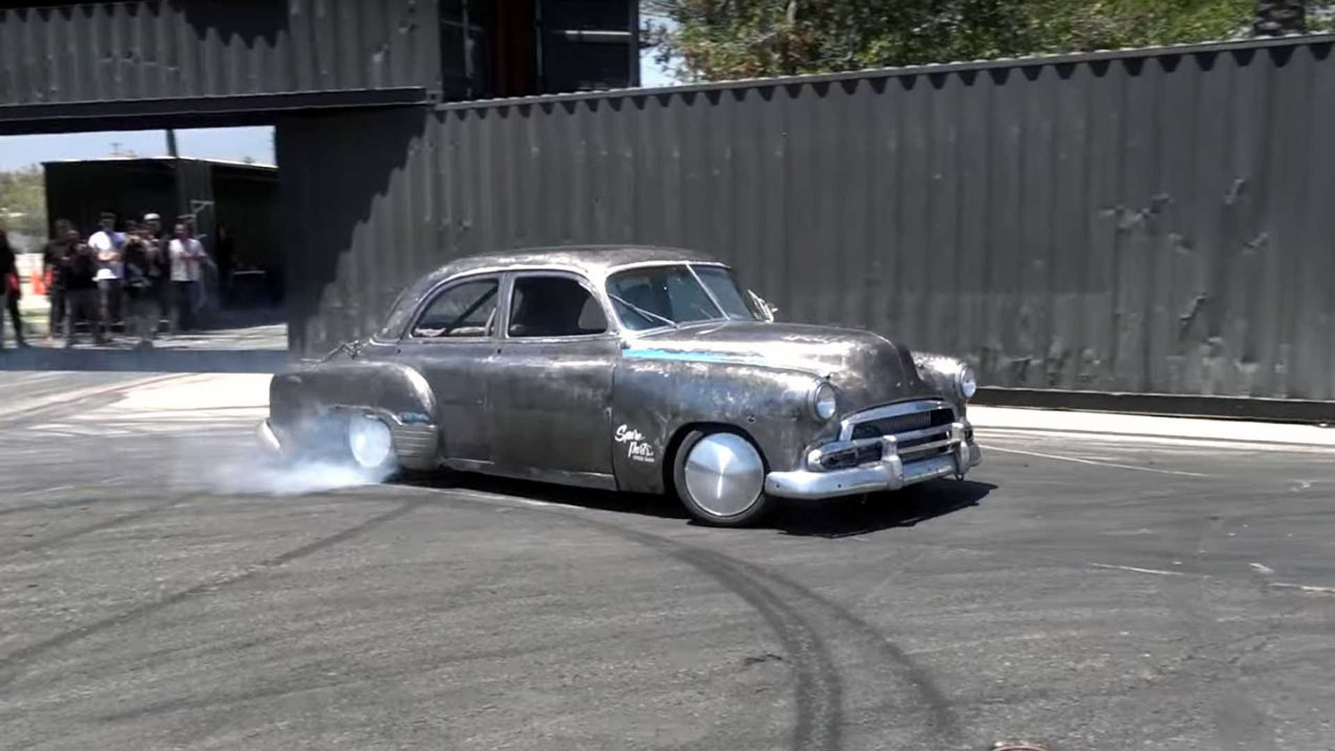 Drifting Lexus LS Disguised As A 1951 Chevrolet | Motorious