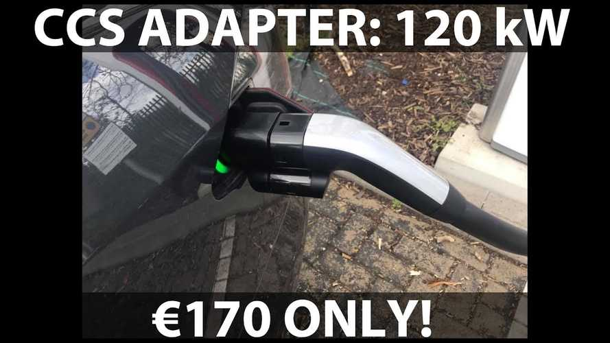 Tesla CCS Combo Adapter For Model S/X In Europe To Cost €170
