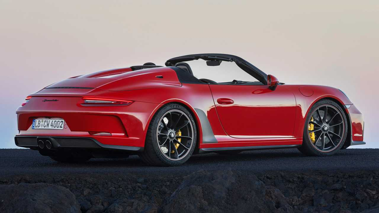 2019 Porsche 911 Speedster Priced From €269,274 In Germany
