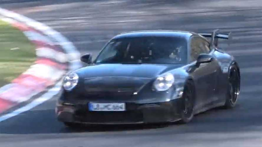 Porsche 911 GT3 Spied On Video Making A Wonderful Sound