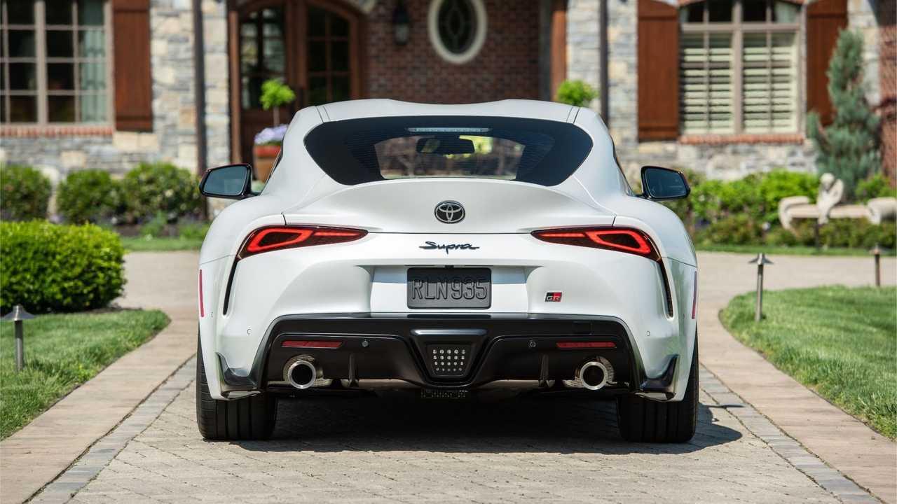 2020 Toyota Supra Exhaust