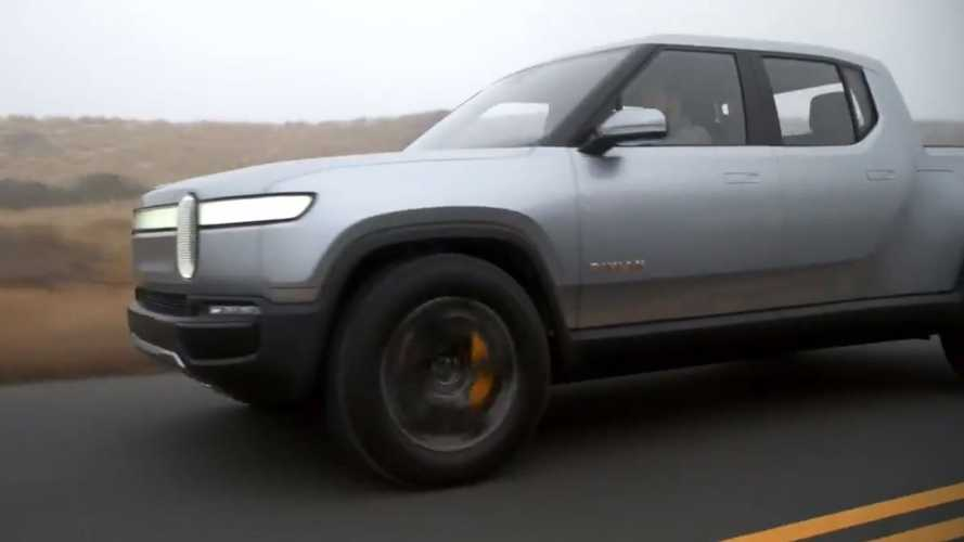 Rivian Releases New Driving Video Of R1T Pickup Truck