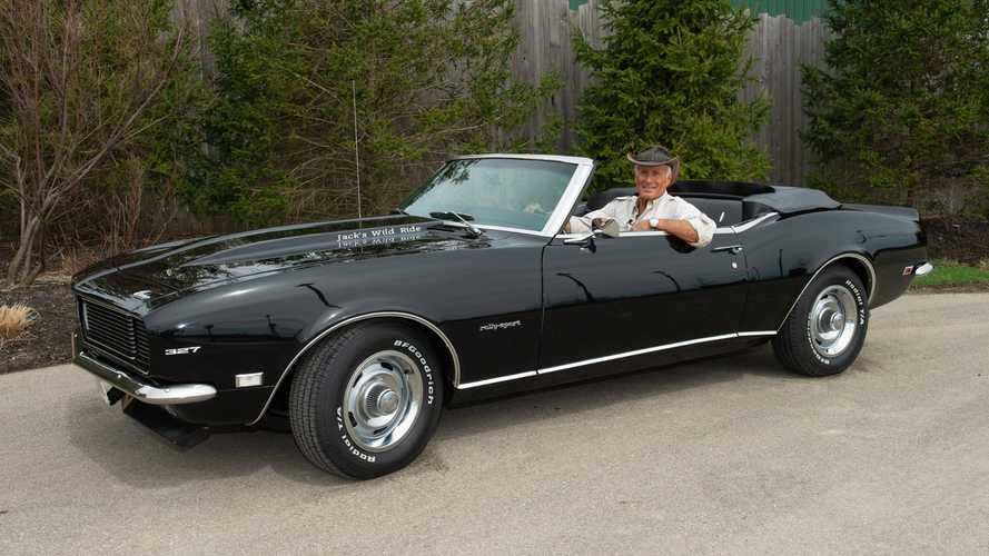 Help Jack Hanna And You Could Win This 1968 Camaro RS Convertible