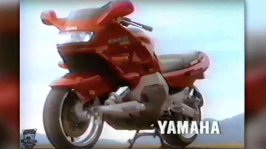Cycleweird: The Strange Case Of The Double Swingarm Yamaha