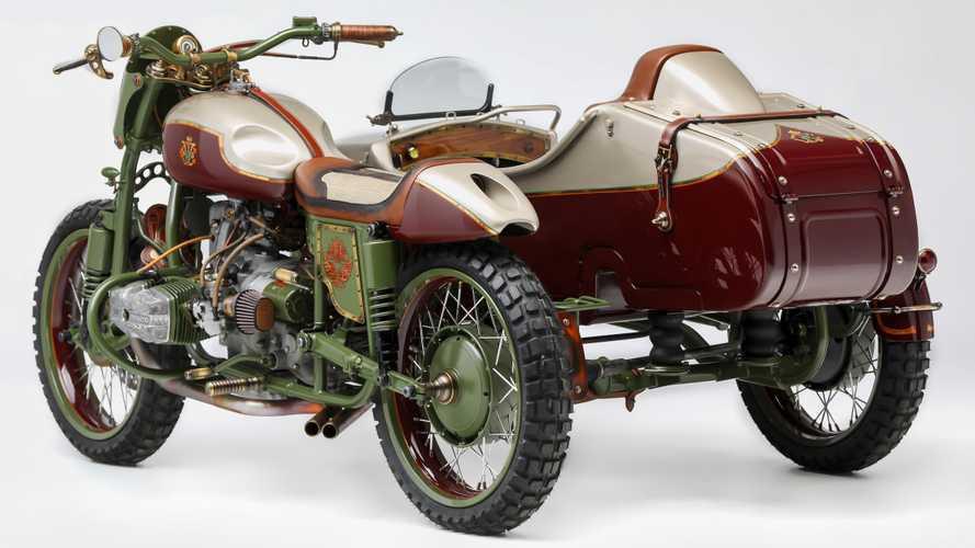 Ural Sidecar Le Mani Moto