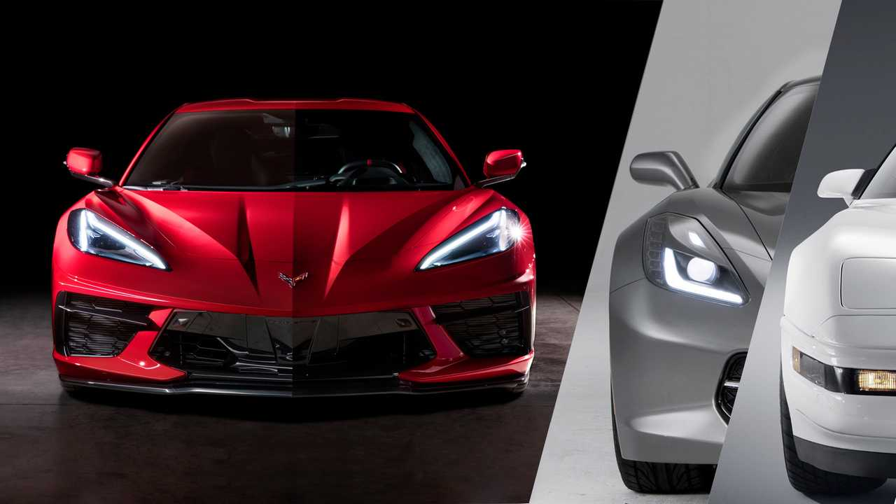 2020 Chevrolet C8 Corvette Stingray Vs. Its Predecessors