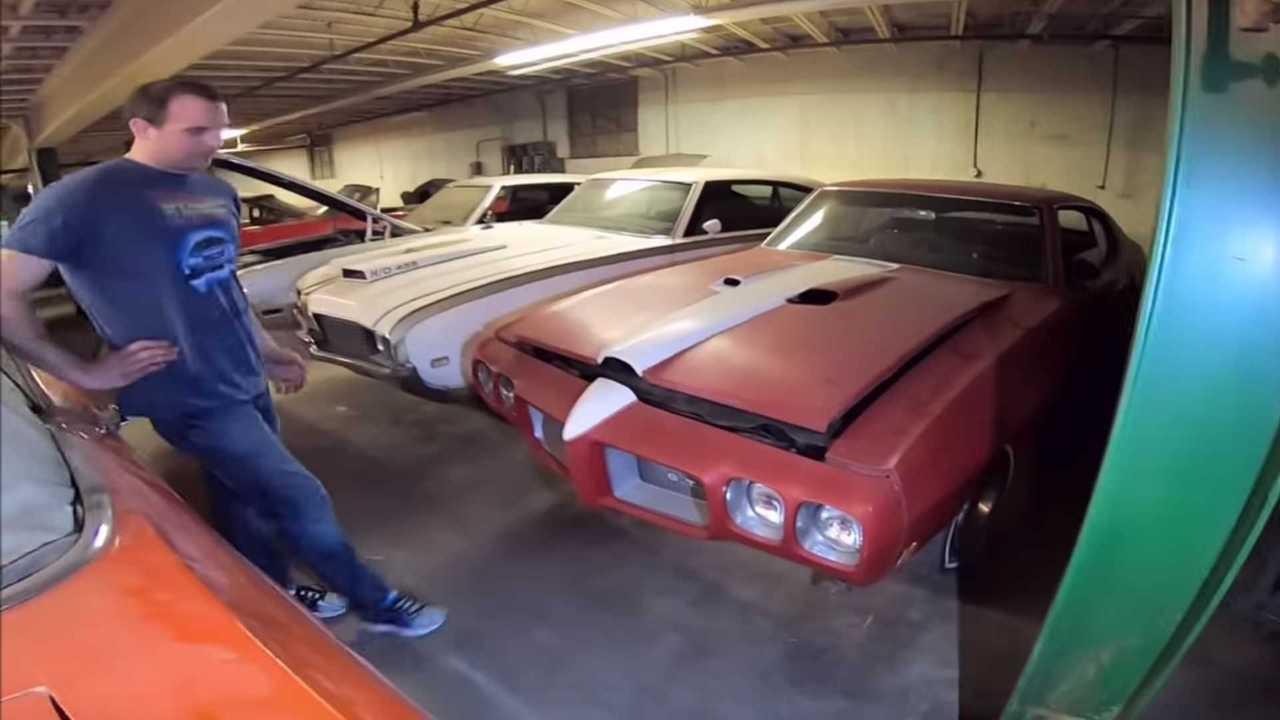 Watch A Huge Muscle Car Barn Find