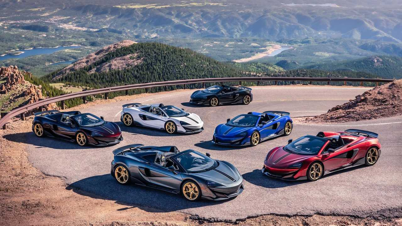 McLaren 600LT Spider Pikes Peak Collection