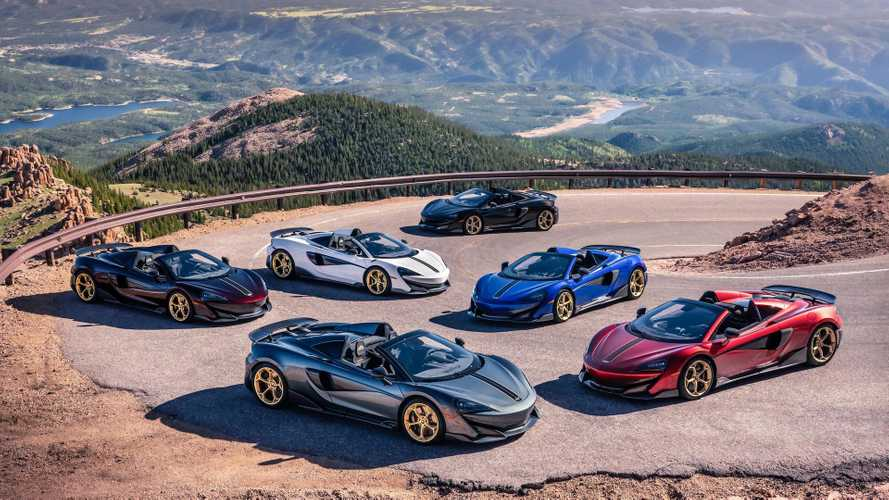 McLaren présente la 600 LT Spider Pikes Peak Collection