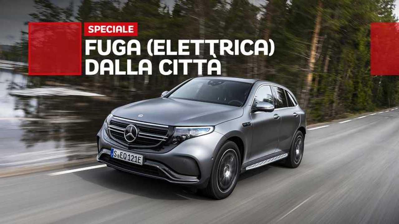 Mercedes EQC, la prova del fine settimana