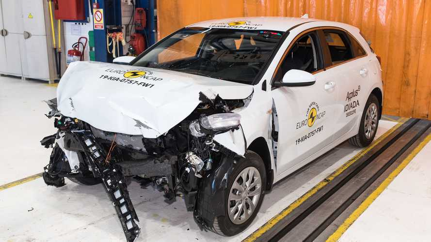 Kia Ceed Crash Test EuroNCAP 2019