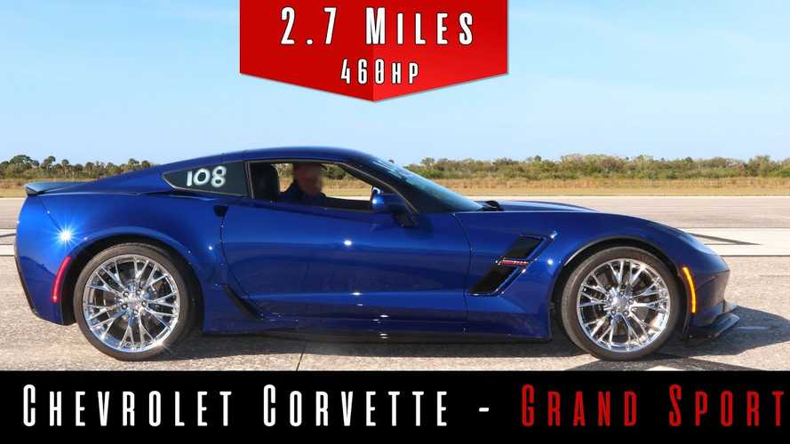 Corvette Grand Sport Sings A V8 Anthem All The Way To Its Top Speed