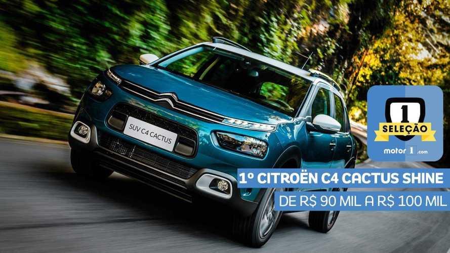 Seleção Motor1.com 2019: Citroën C4 Cactus Shine vence categoria de R$ 90 mil a R$ 100 mil