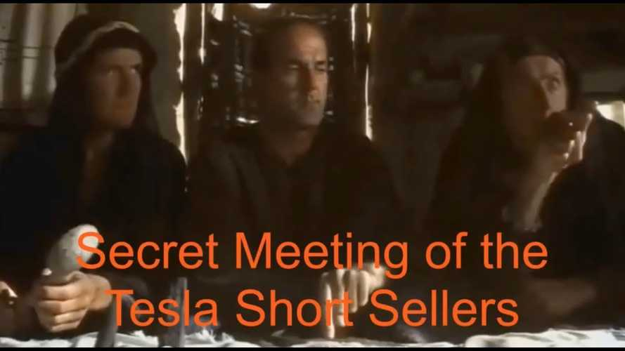 Inside Scoop From The Secret Meeting Of Tesla Short Sellers: Video