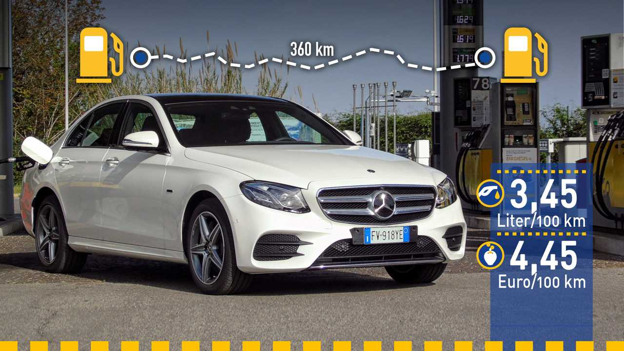 Mercedes E 300 im Verbrauchstest