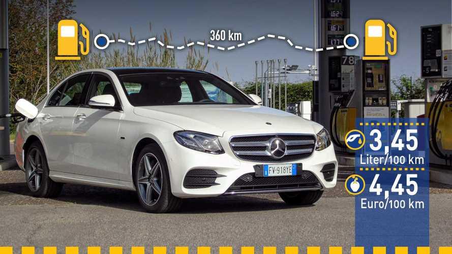 Tatsächlicher Verbrauch: Mercedes E 300 de im Test