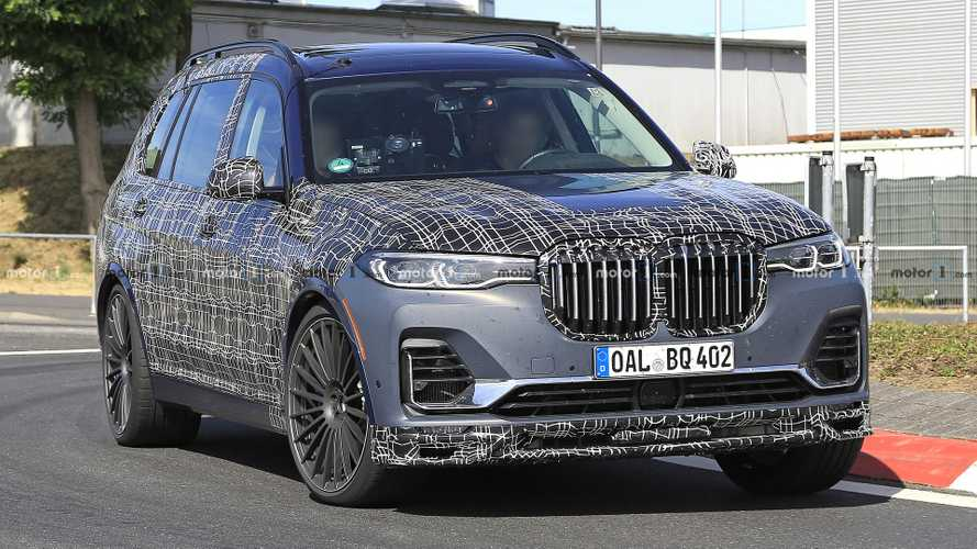 Alpina XB7 spied stretching its legs at the Nurburgring