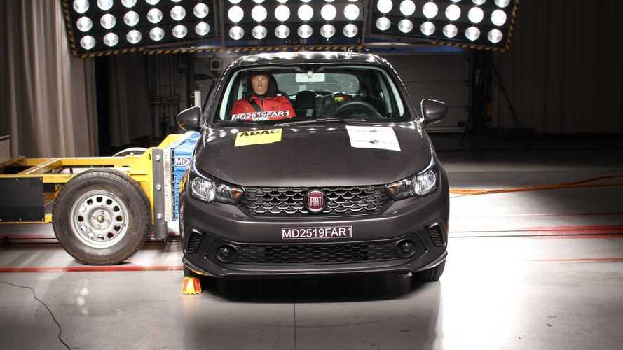 Fiat Argo e Cronos - Latin NCAP