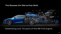 Audi R8 disintegration