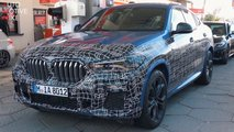 bmw x6 m50i spy video