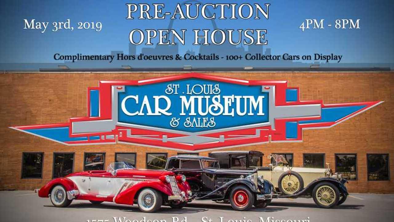 St. Louis Car Museum & Sales event