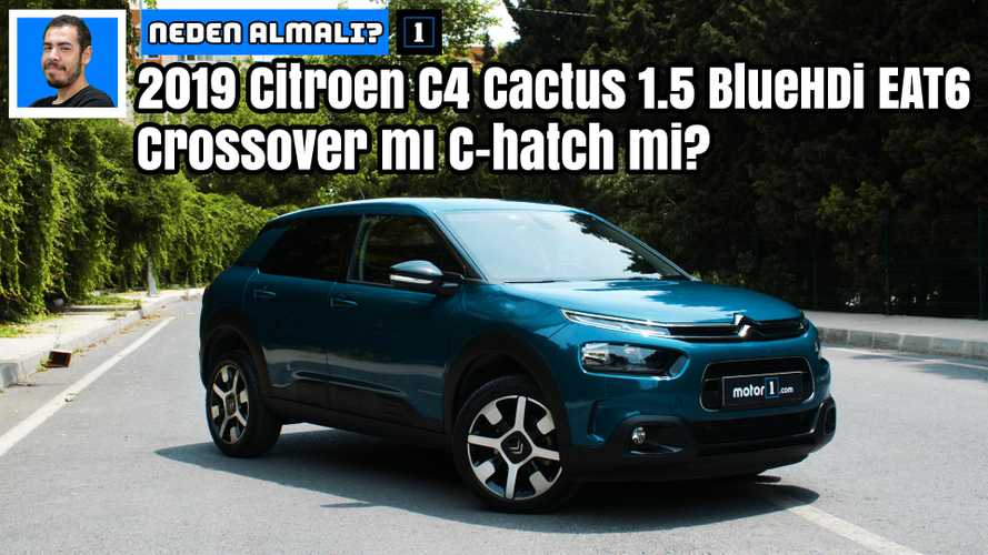2019 Citroën C4 Cactus 1.5 BlueHDi EAT6 Shine | Neden Almalı?