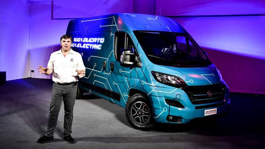 Fiat Unveils 2020 Ducato Electric Van (w/Videos)