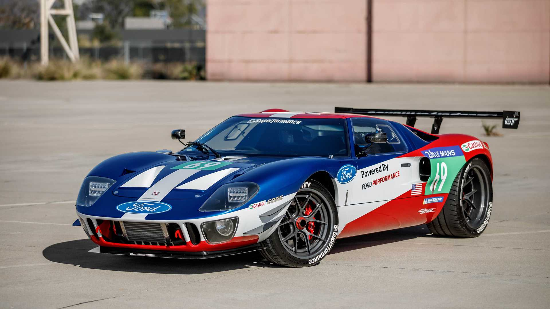 "[""Superformance Future GT Forty SEMA Show Car Can Be Yours""]"