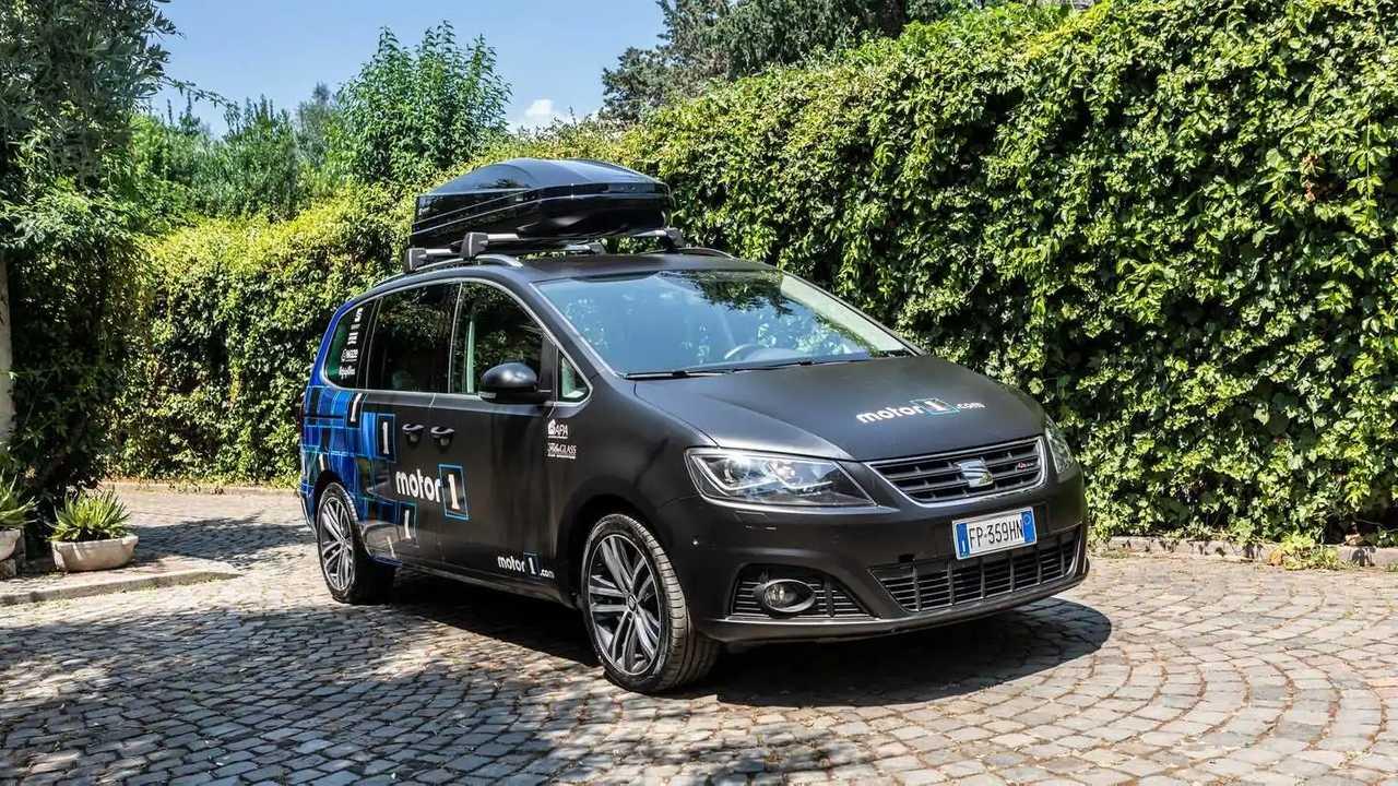 La Crew Car 2019, la Seat Alhambra