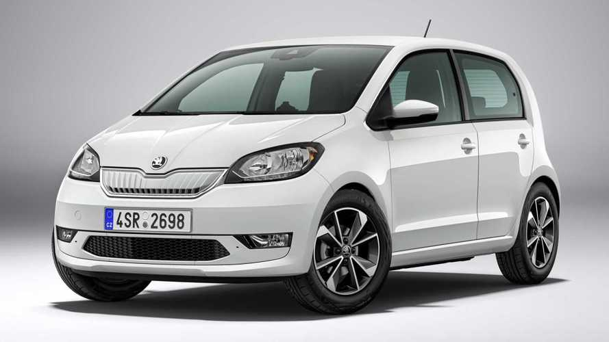 Skoda Citigo E iV electric vehicle priced from £20,455