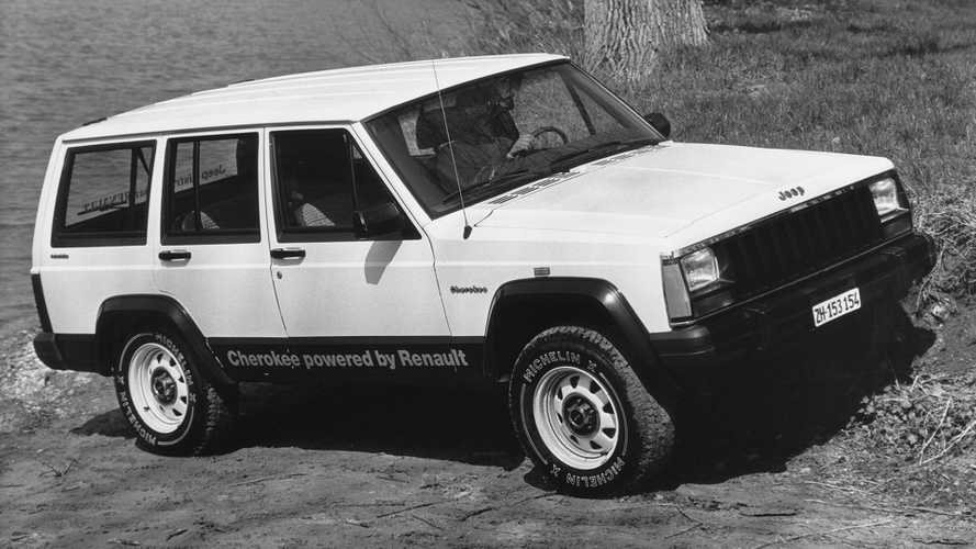 Jeep Cherokee XJ - Lointaine fondation de l'alliance Renault-FCA