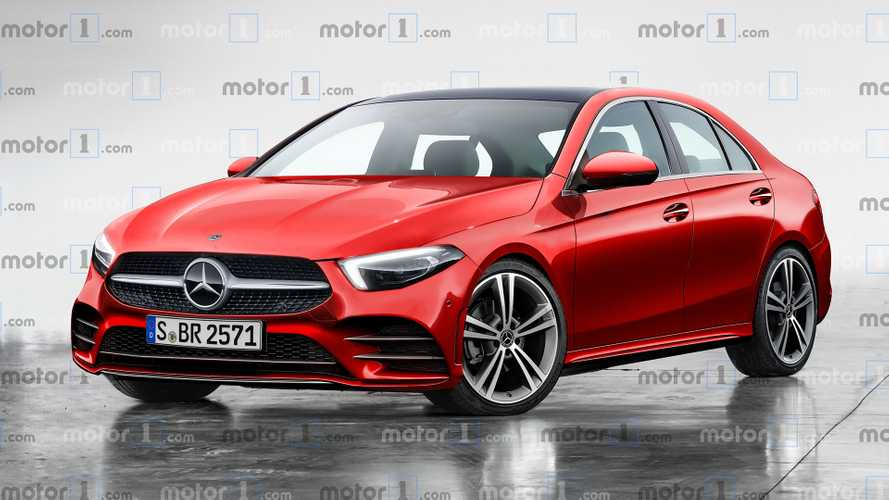 2021 Mercedes C-Class Sedan Rendered With Upscale Look