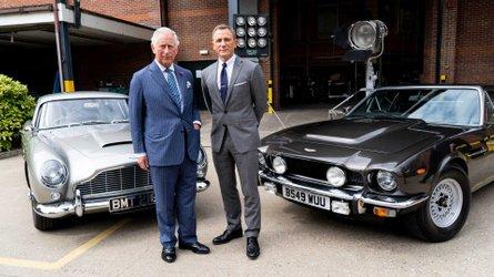 Classic Aston Martin V8 Vantage Spotted Filming For New Bond Film