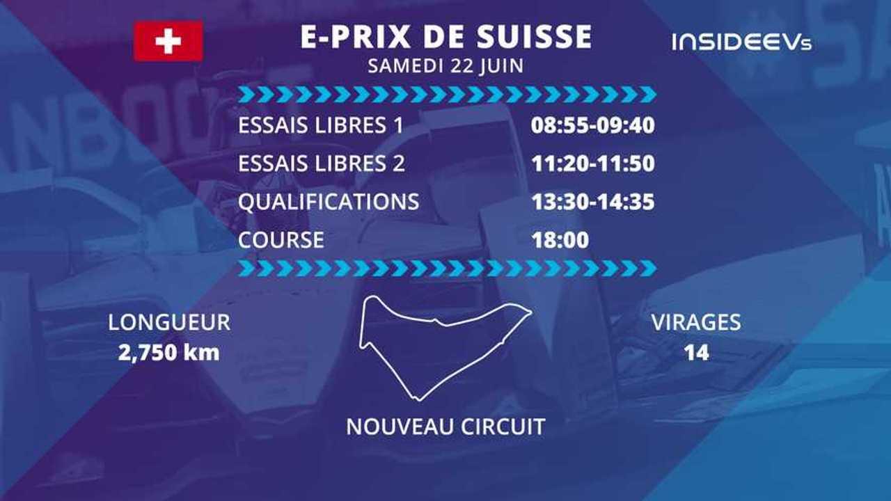 Le programme de l'E-Prix de Suisse