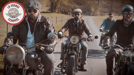 Watch This Club Ride Vintage 1930s Motorcycles Across France