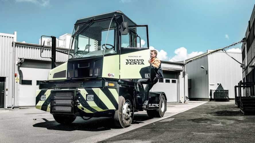 Volvo Penta Develops Electric Terminal Tractor
