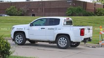 Chevrolet Colorado Test Mule