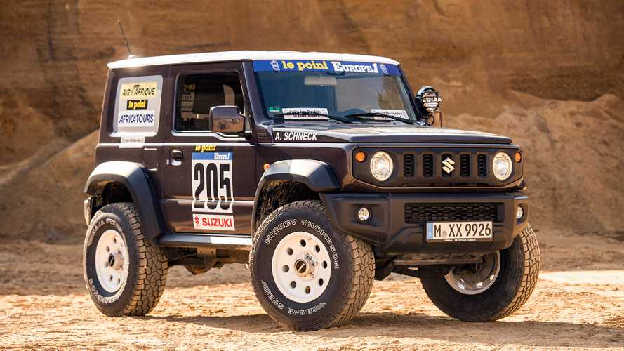 Delta 4x4 Suzuki Jimny: Hoch hinaus